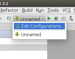 Run - Edit Configurations